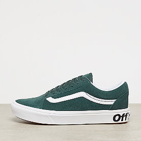 Vans UA ComfyCush Old Skool  trekking green/true white