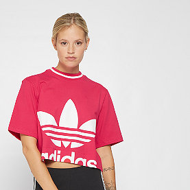 adidas Cropped Tee  energy pink F17