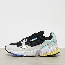 adidas Falcon black/chalk white/mint/real lilac/silver met/yellow w
