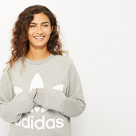 adidas Oversized Sweat medium grey heather
