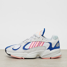 adidas Yung-1 crystal white/clear orange/collegiate royal