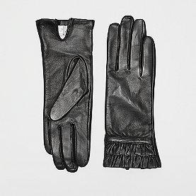 Nümph Filomena Gloves caviar fl.