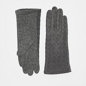 Nümph Filomena Gloves grau