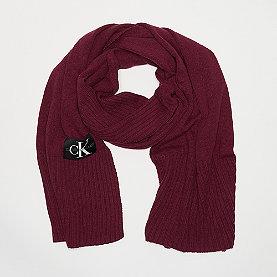 Basic Knitted Scarf tawny port