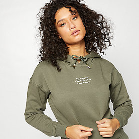 Hoodie Hungry olive