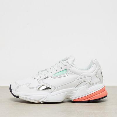 adidas Falcon W crystal white/crystal white/easy orange
