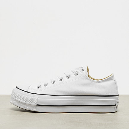 Converse Chuck Taylor All Star Lift white/black/white