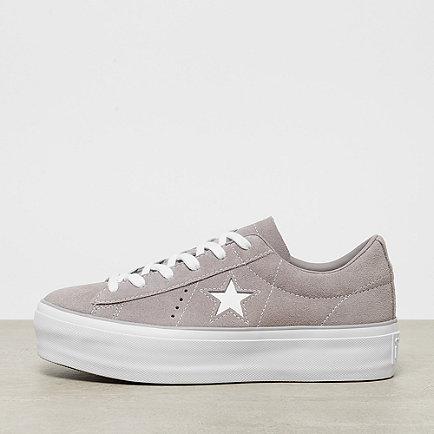 Converse One Star Platform OX grey