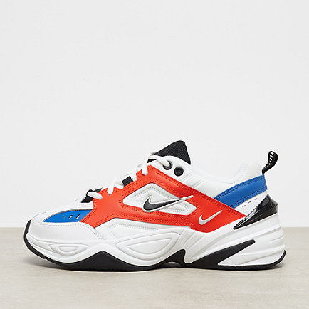 NIKE M2K Tekno summit white/black-team orange