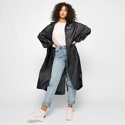 NIKE NSW Jacket Woven Swoosh black/white