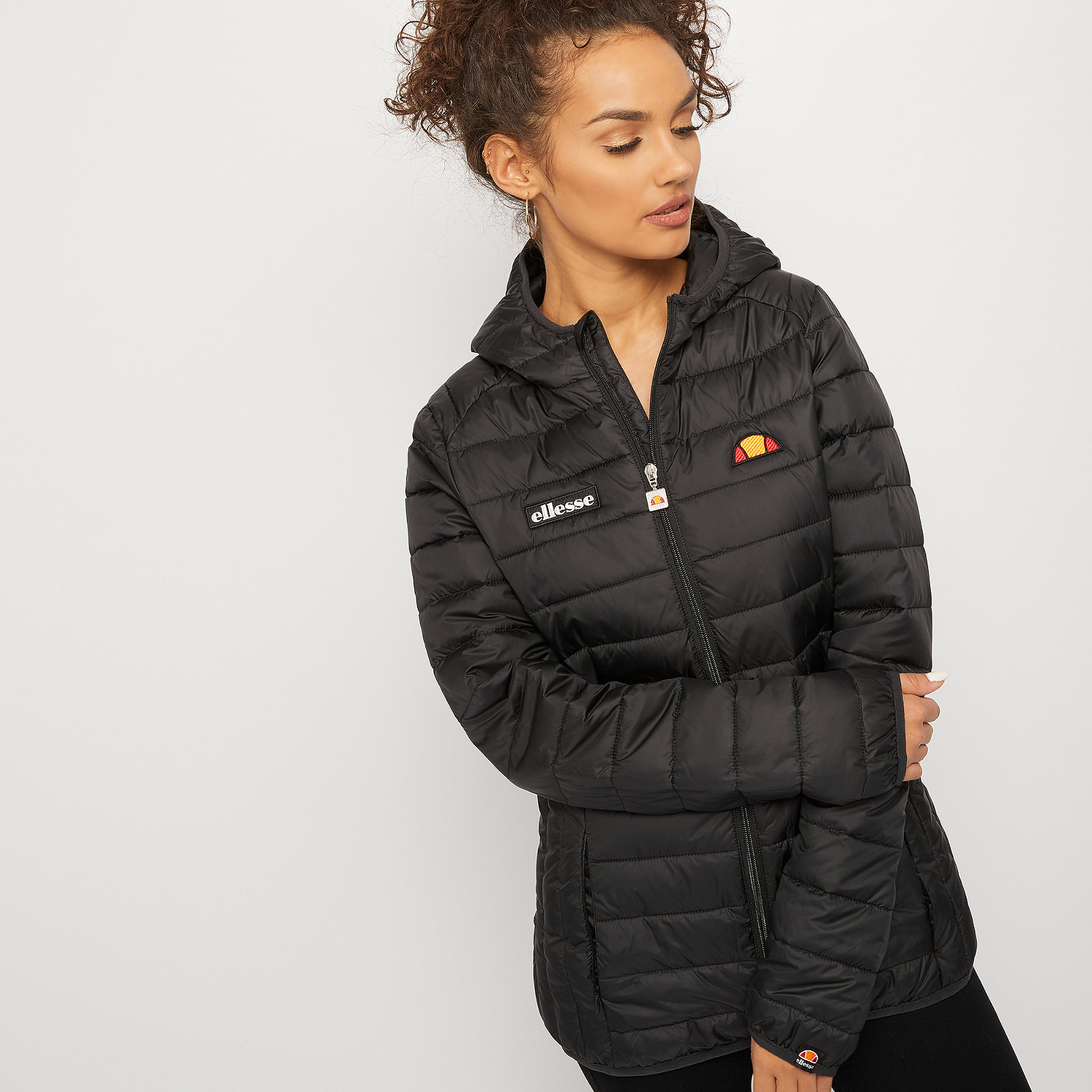 ELLESSE Ellesse Lompard Full Zip Jacket anthracite